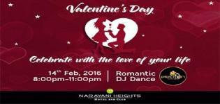 Valentine Party 2016 in Ahmedabad at Narayani Heights Hotel & Club on 14 February