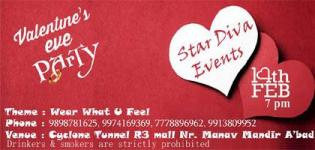 Valentines Eve Party 2016 in Ahmedabad Gujarat at Cyclone Tunnel - Date & Details