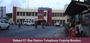 Valsad ST Bus Station Telephone Enquiry Number - Depot Information Contact No Details