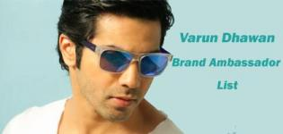 Varun Dhawan Brand Ambassador List - Endorsement Photo Gallery