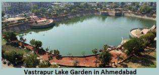 Vastrapur Lake Garden in Ahmedabad Gujarat - Address Timings of Vastrapur Lake