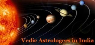 Vedic Astrologers in India - Best Top Vedic Astrologers in India