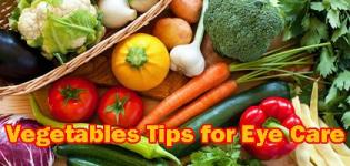 Vegetable Nutrients Facts and Benefits for Good Healthy Eyes - Vegetables Juice Tips for Eye Care