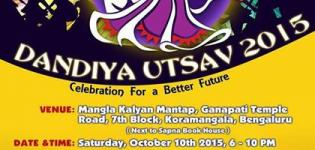 Vibha Navratri Dandiya Utsav Celebration 2015 in  Koramangala at Mangla Kalyan Mantap