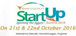 Vibrant Gujarat Startup Summit 2016 - VG Startup Grand Challenge 2016 in Gandhinagar