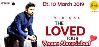 Vir Das Live in Ahmedabad 2019 - Vir Das The Loved Tour at Pandit Dindayal Upadhyay Auditorium