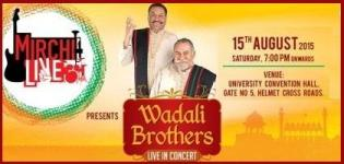 Wadali Brothers Live in Concert in Ahmedabad 2015 by Mirchi Live