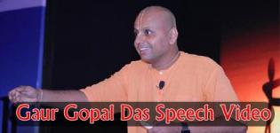 Watch Prabhu Gaur Gopal Das Latest Speeches 2018 in English Videos