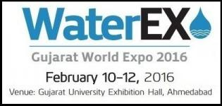 WaterEx Gujarat World Expo in Ahmedabad 2016 - Exhibition of Water Management Industry
