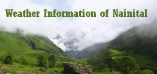 Weather Information of Nainital - Weather Forecast of Nainital
