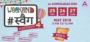 Weekend Swag 4th Edition, Gujarat's Only Mall Flea Market Arrange in Ahmedabad