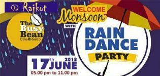 Welcome Monsoon Rain Dance Party 2018 in Rajkot Date Time and Venue Details