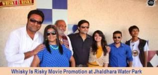 Whisky Is Risky Stars at Jaldhara Water Park near Kankaria Lake Ahmedabad for Movie Promotion