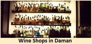 Wine Shop Company in Daman - Best/List of Government Wine Shops Price/Rate in Daman