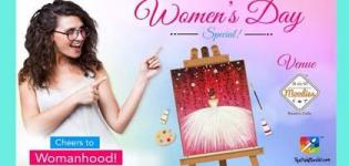 Womanhood Paint Party 2018 in Surat at Moodies Restro Cafe