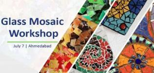Workshop for an Art Lesson on Glass Mosaic arrange for Learning in Ahmedabad