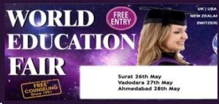 World Education Fair 2015 in Ahmedabad at The Pride Judges Bungalow Road on 28 May
