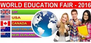 World Education Fair 2016 in Vadodara at Overseas Education Centre Baroda