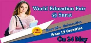 World Education Fair arranged for Every Student, Education Expo 2018 in Surat