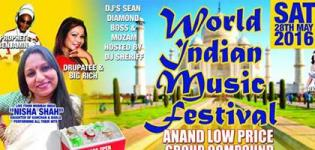 World Indian Music Festival 2016 in Anand Gujarat Date and Details