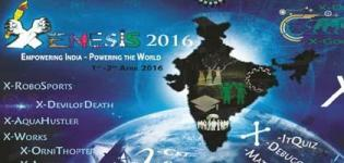 Xenesis Event 2016 in Gandhinagar Gujarat at LDRP ITR Date and Details