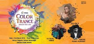YMC Color Trance Dhuleti Fest 2019 in Bhavnagar at Rajpath Party Plot
