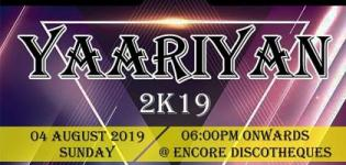 Yaariyan 2019 - Friendship Day Party in Ahmedabad at Encore Discotheque
