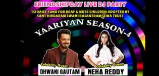Yaariyan Season 4 in Ahmedabad - Friendship Day Party with Dhwani Gautam & Neha Reddy