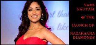 Yami Gautam at the Launch of Nazraana Diamond Jewellery