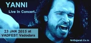 Yanni Live In Concert 2015 at Vadodara India on 23 January - VADFEST 2015