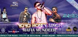 Yo Yo Honey Singh Live in Concert 2014 in Ahmedabad Gujarat