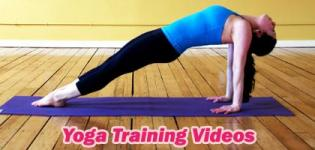 Yoga Exercise Training Videos - All Types of Yogasana and Breathing Pranayam