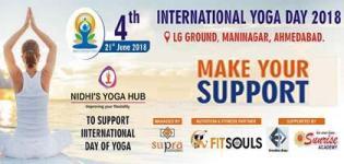 Yoga Seminar on 4th International Day of Yoga with Professional Yoga Trainer
