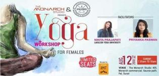 Yoga Workshop of 2018 arrange by Athlecross for you all Women in Surat City