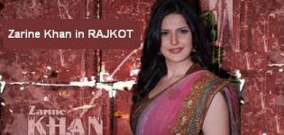 Zarine Khan in Rajkot for