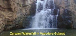 Zarwani Waterfall in Vadodara Gujarat - Address of Zarvani Waterfall