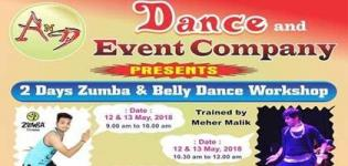 Zumba and Belly Dance Workshop for All You People by A N D Dance Company in Ahmedabad