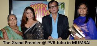 The Grand Premier of Gujarati Movie Happy Family Pvt Ltd at PVR Juhu in MUMBAI