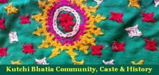 Kutchi Bhatia Community - History of Bhatia Caste of Kutch
