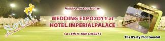 Visit Royal Celebration Party Plot Stall in Wedding Expo 2011 Rajkot