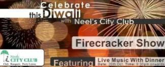 Fire Cracker Show at Neel's City Club Rajkot