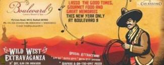 Wild West Extravaganza � New Year Celebration at Boulevard 9 - Nadiad
