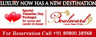 Special Valentine Day Packages at Boulevard 9 Resort � Nadiad