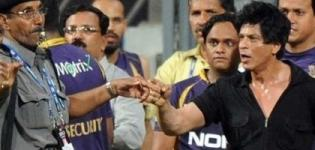 Shahrukh Khan misbehaves at the Wankhede Stadium after KKR wins