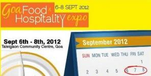 Goa Food & Hospitality Expo - 2012