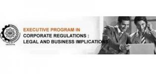 Executive Program in Corporate Regulations launched by IIM Calcutta and NIIT Imperia