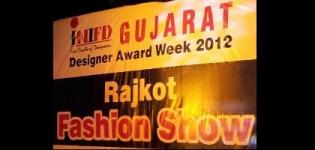 INIFD Rajkot Fashion Show 2012 - 10 June at TGB in Rajkot Gujarat India