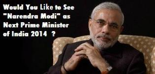 Narendra Modi - Next Prime Minister of India 2014