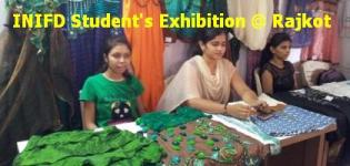 INIFD Student Fashion Garments Exhibition 2012 in Rajkot - Gujarat India