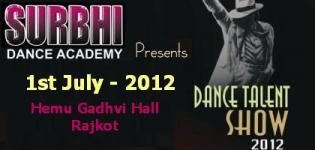 Surbhi Dance Academy presents Dance Talent Show � 2012 Rajkot Gujarat